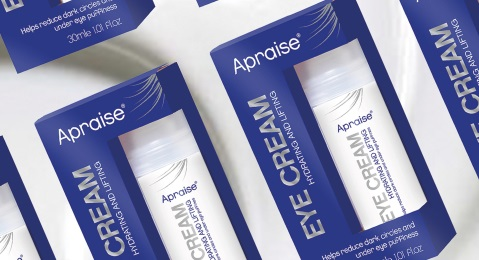 APRAISE® HAS LAUNCHED ITS NEW EYE CREAM Image
