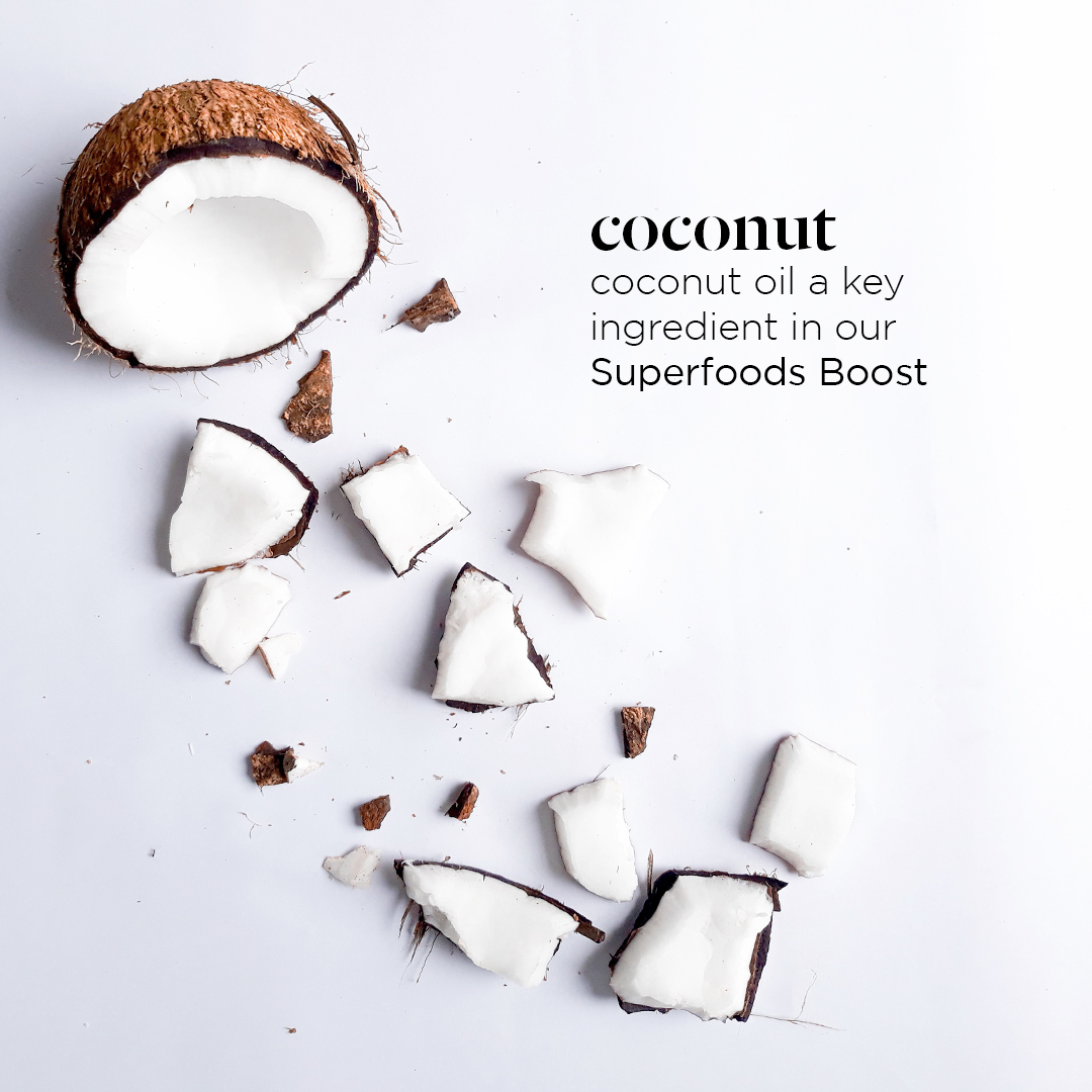 Shattered coconut