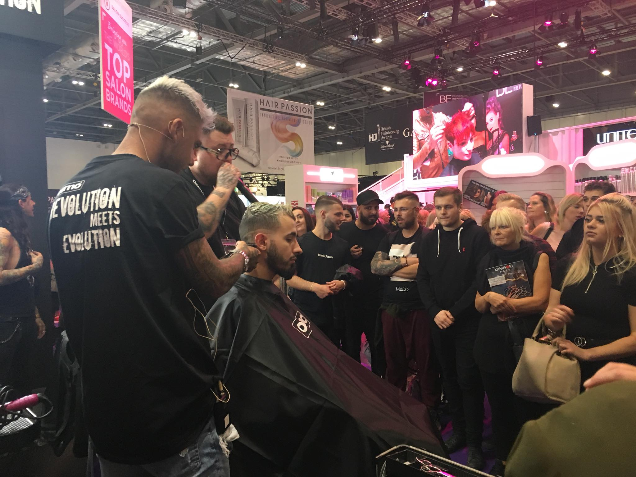 The OSMO Revolution takes over at Salon International 2018