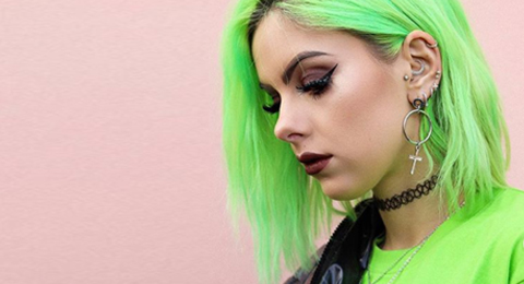 Crazy Color NEON with Vlogger Sophie Hannah Image