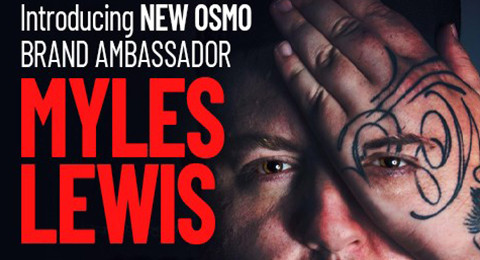 Myles Lewis appointed new OSMO brand ambassador Image