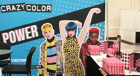 CRAZY COLOR - INTERNATIONAL BEAUTY EXPOSITION 2020 Image