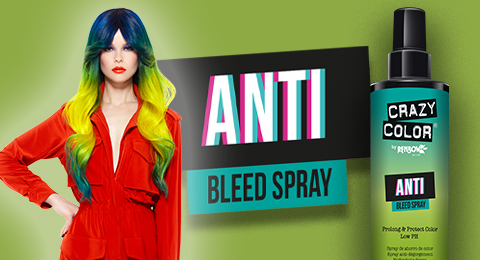 Crazy Color's new Anti Bleed Spray Image