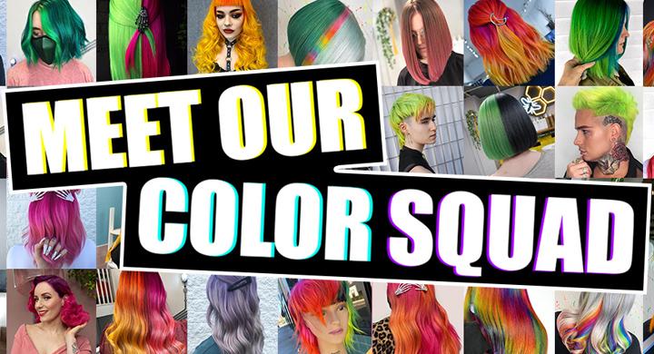 Crazy Color LIVE: Meet Our Color Squad Image